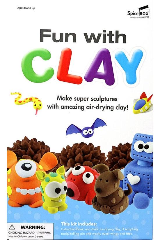 Spice Box: Fun With Clay