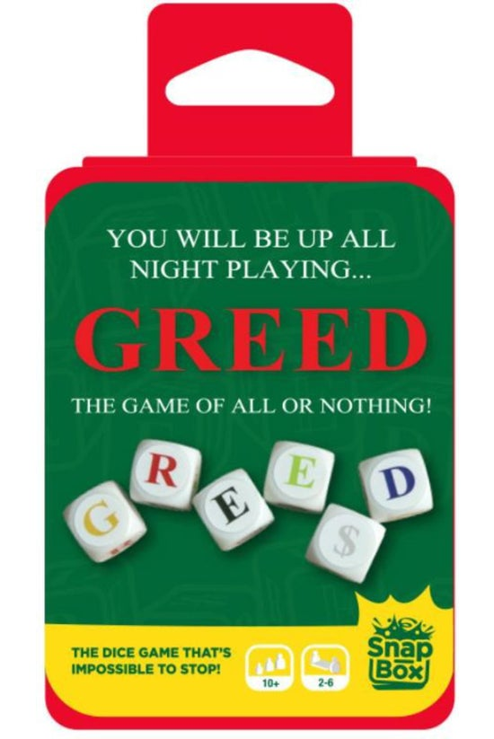 Snapbox Greed Dice Game