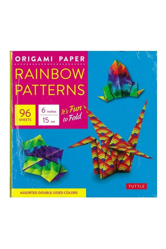 Origami Paper Rainbow 15cm Squ...