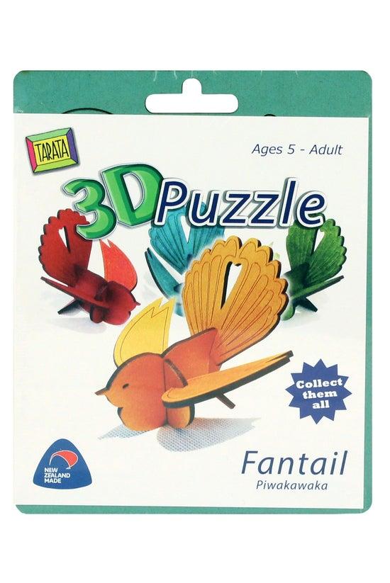 Tarata 3d Puzzle Fantail Assor...