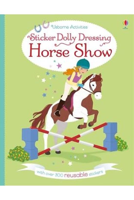 Sticker Dolly Dressing Horse S...