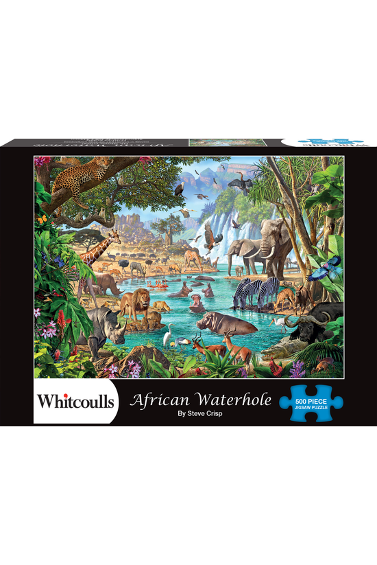 Whitcoulls 500 Piece Jigsaw Af...