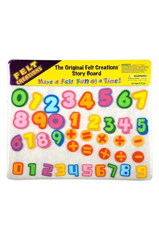 Felt Creations Numbers