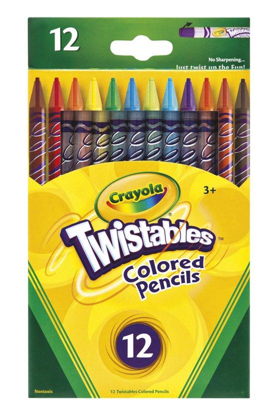 Crayola Coloured Pencils Twist...