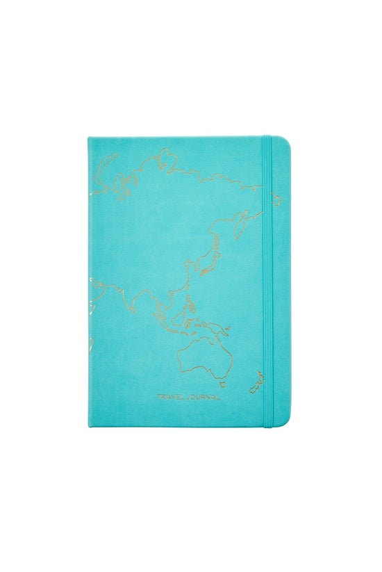 Noted A5 Travel Journal Gold M...