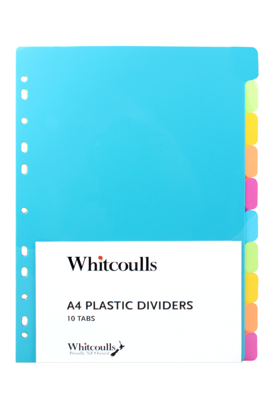 Whitcoulls Subject Dividers 10...