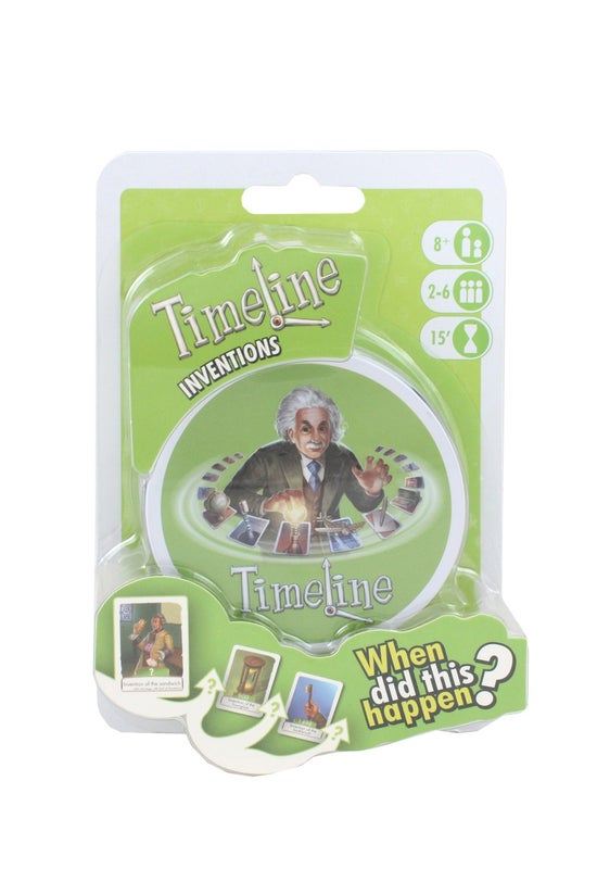 Timeline Inventions Card Game ...