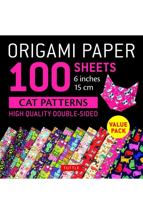 Origami Paper Cat Patterns 15c...