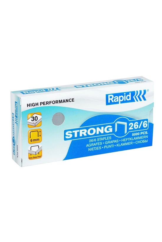 Rapid 26/6 Strong Staples Box ...