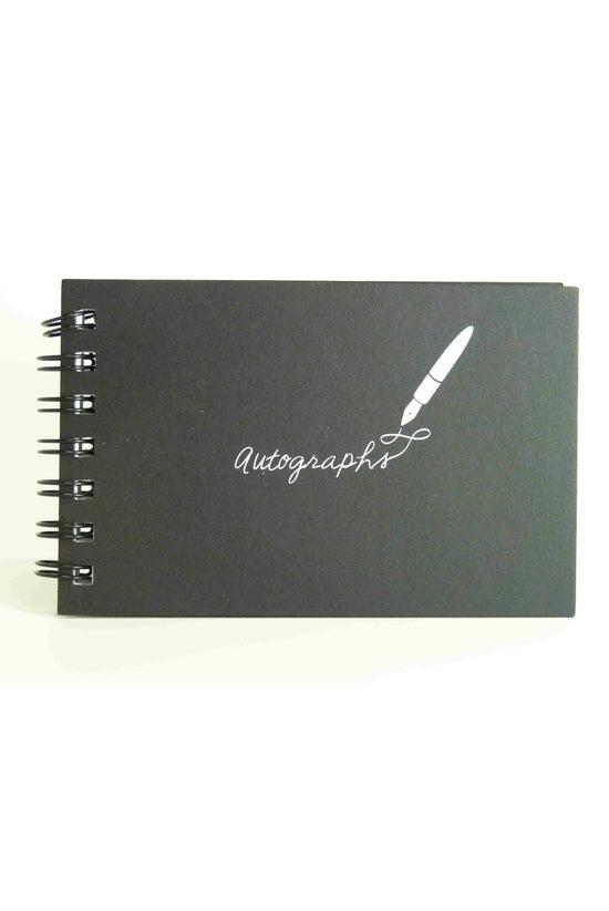 Kurtovich Autograph Book Black