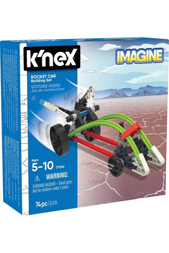 K'nex Imagine Rocket Car Build...