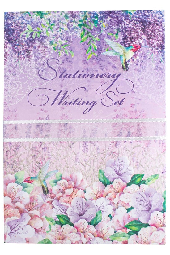 Carol Wilson Writing Set Lilac...