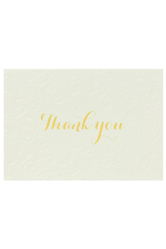Noted Thank You Cards Pearl Go...