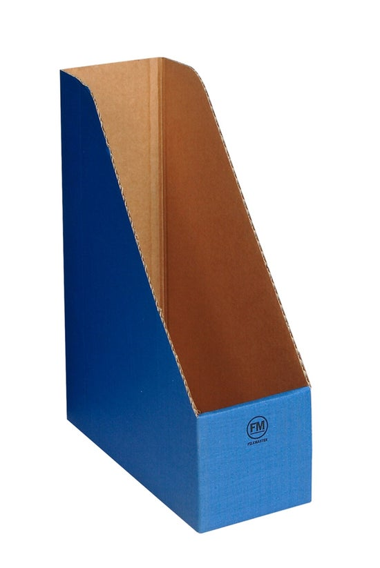 Fm Magazine File Cardboard Blu...
