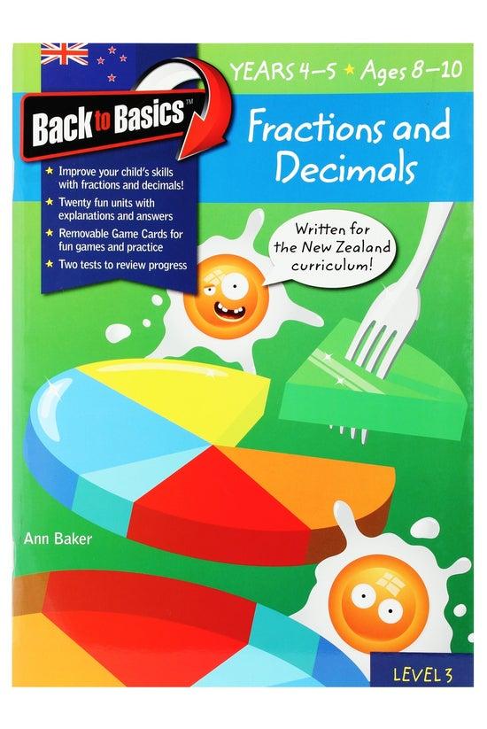 Back To Basics Years 4-5 Fract...