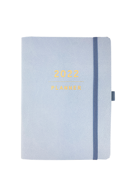 2022 Diary Week To View Leathe...