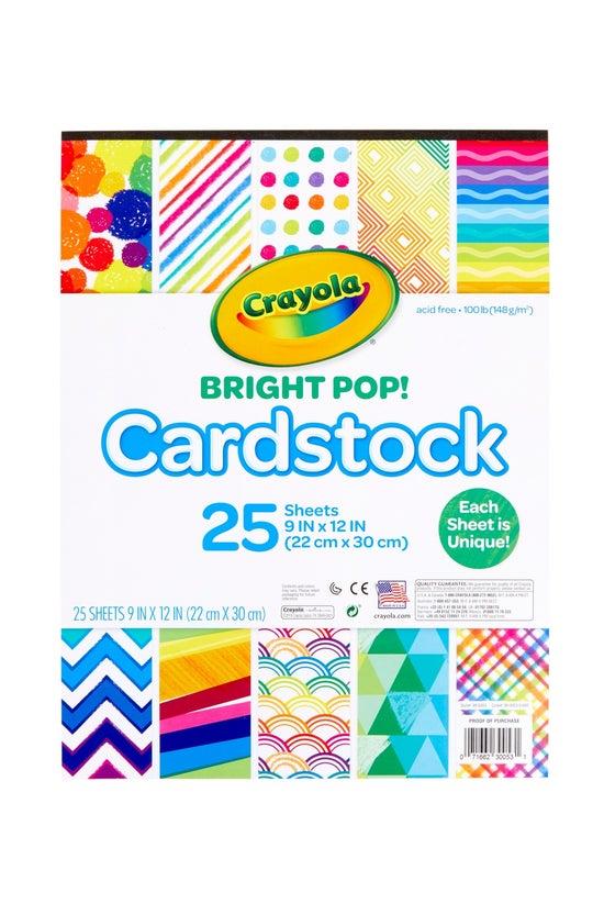 Crayola Bright Pop Cardstock P...