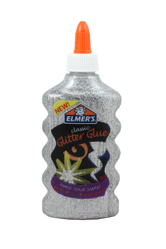 Elmer's Glitter Glue Silver 17...