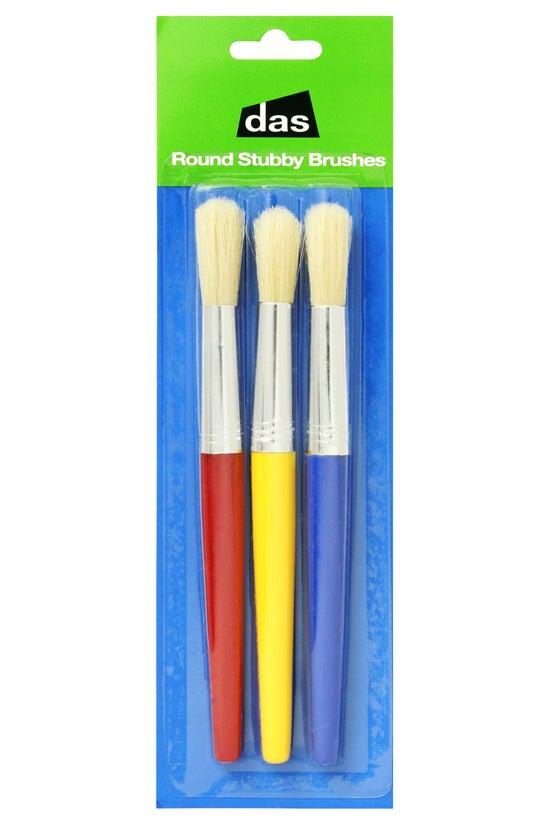 Das Round Stubby Brushes Brist...