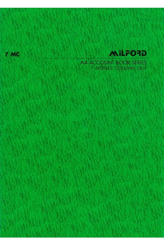Milford Accounting Book A4 Lim...