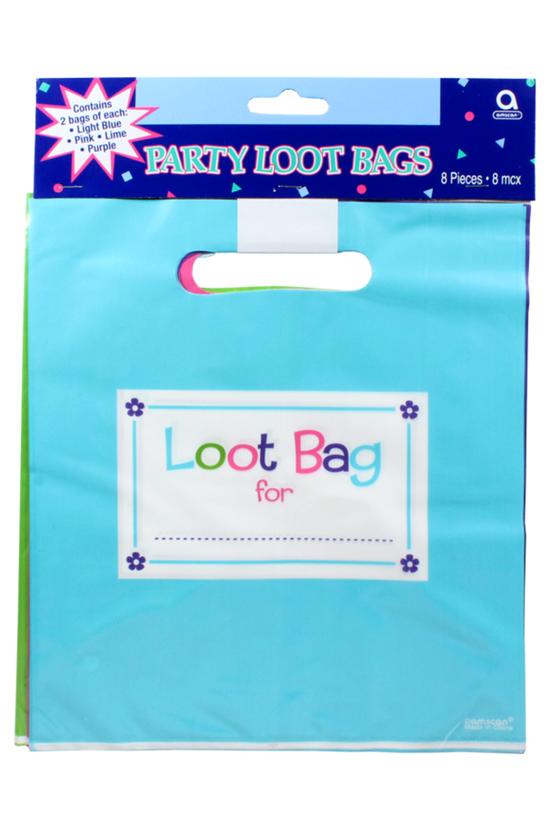 Amscan Loot Bags Plastic Pack ...
