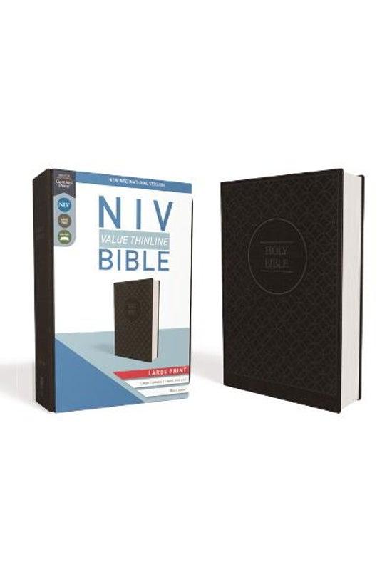 Niv, Value Thinline Bible, Lar...