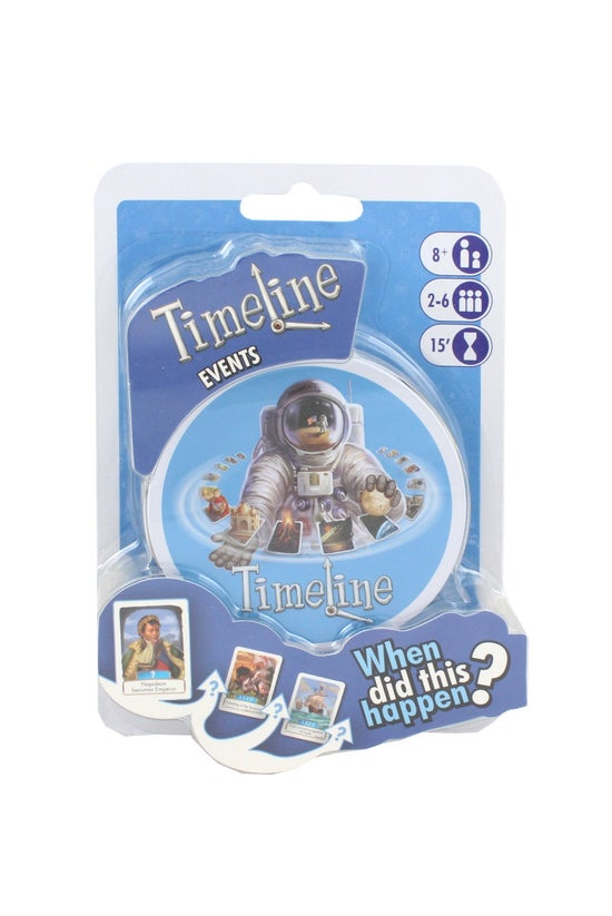 Timeline Events Card Game Mini...