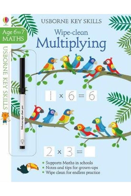 Wipe-clean Multiplying 6-7: 2....