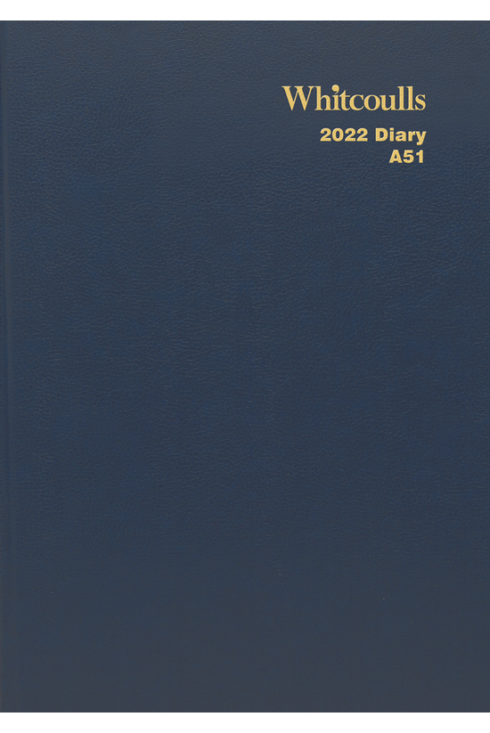 2022 Diary Whitcoulls A5 Day P...