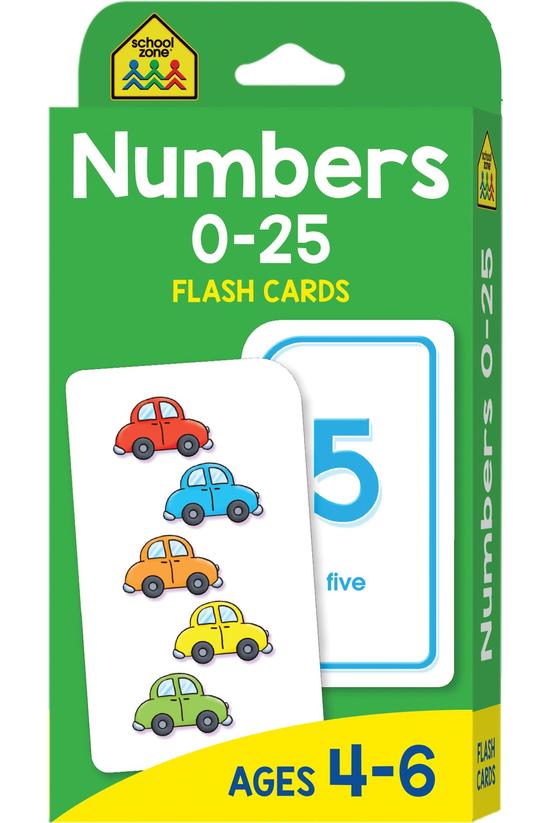 School Zone: Numbers 0-25 Flas...