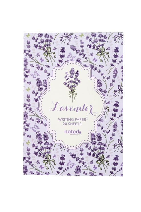 Noted Writing Pad A5 Lavender ...
