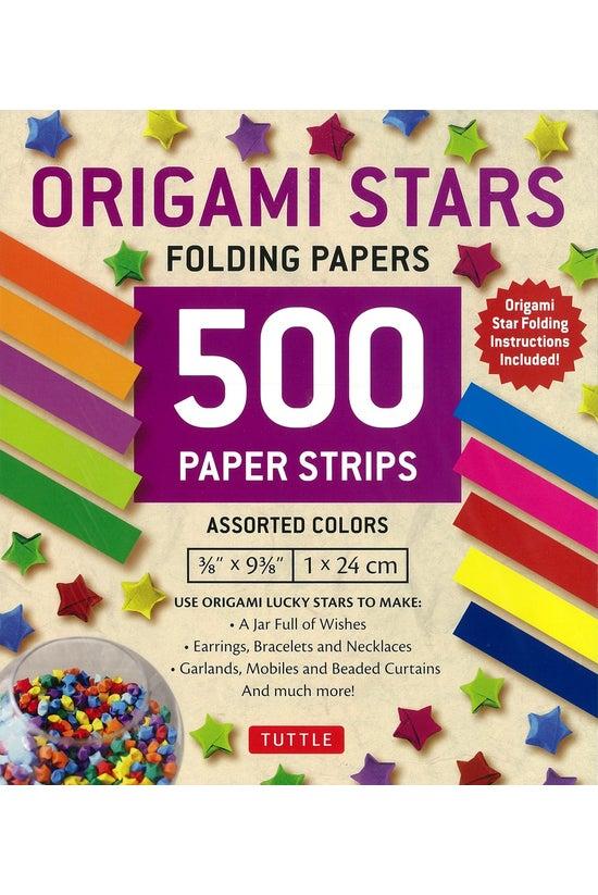 Origami Stars 500 Folding Stri...