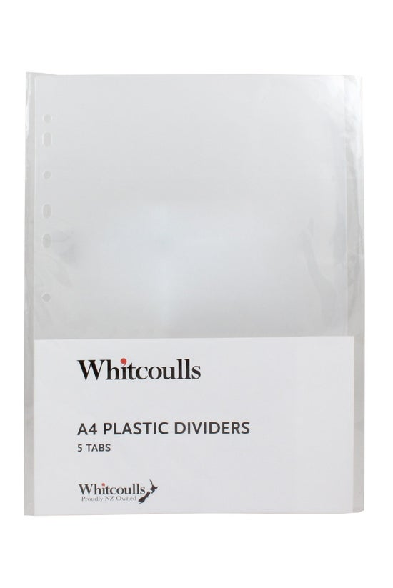 Whitcoulls Subject Dividers 5 ...