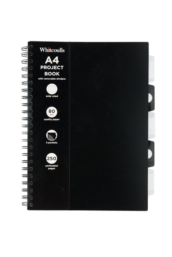 Whitcoulls A4 Project Book Wit...