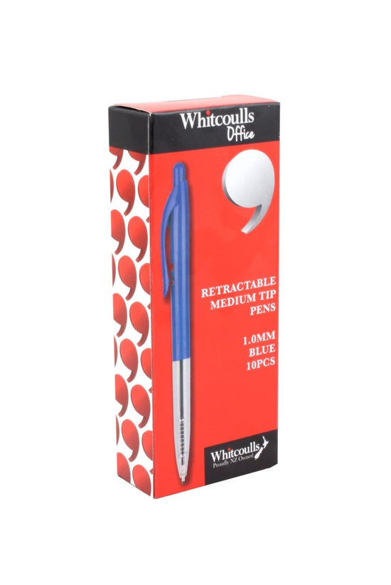 Whitcoulls Pen Medium Tip 1.0m...