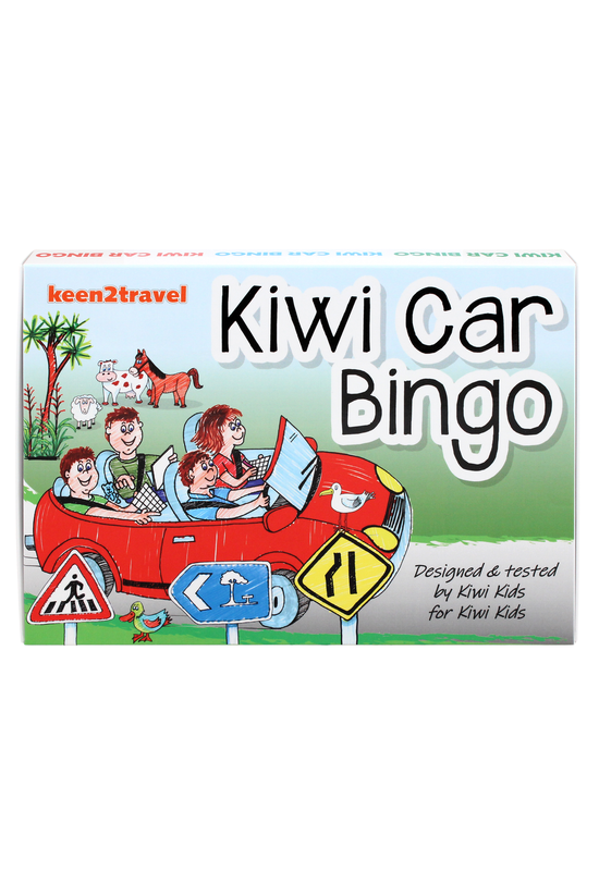 Kiwi Car Bingo Game