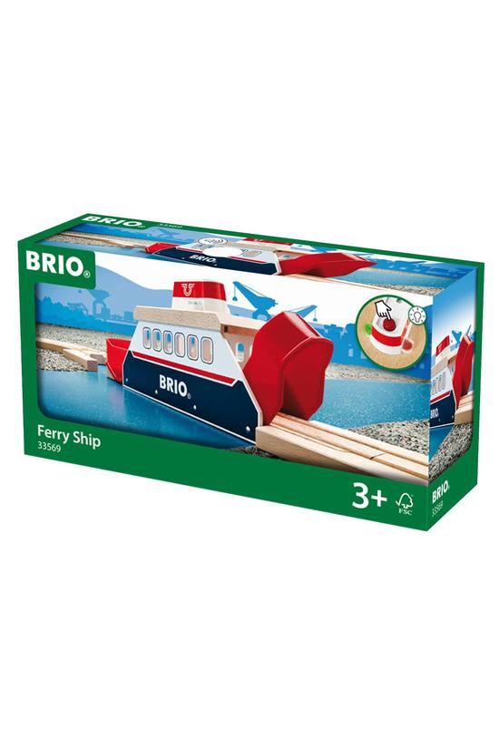Brio World: Railway Ferry Ship