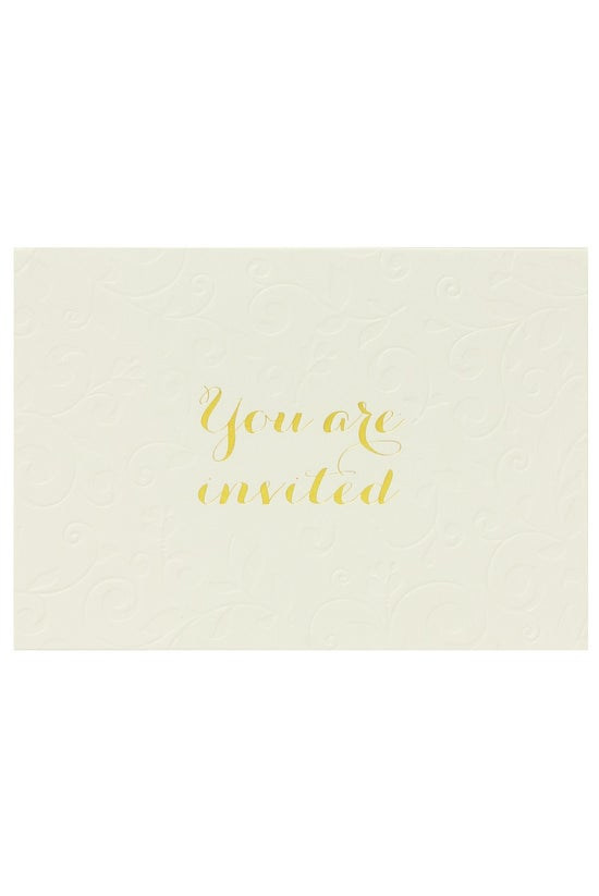 Noted Invitation Cards Pearl G...