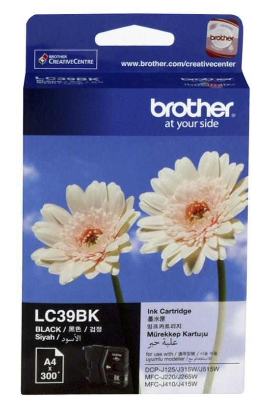 Brother Ink Lc39bk Black