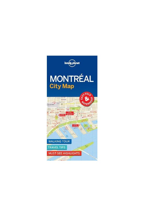 Lonely Planet Montreal City Ma...