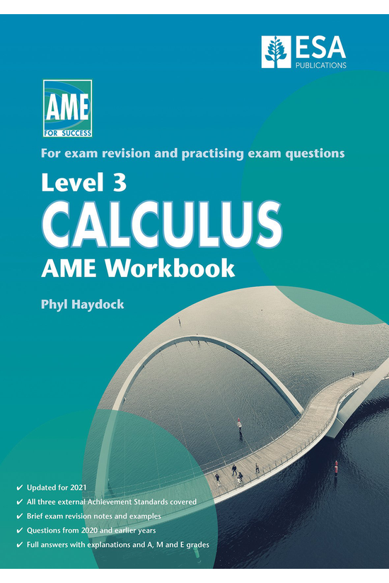 Ncea Level 3 Calculus Ame Work...