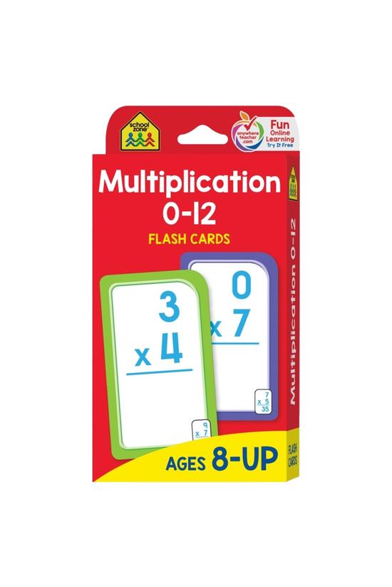 Sz Flash Cards: Multiplication