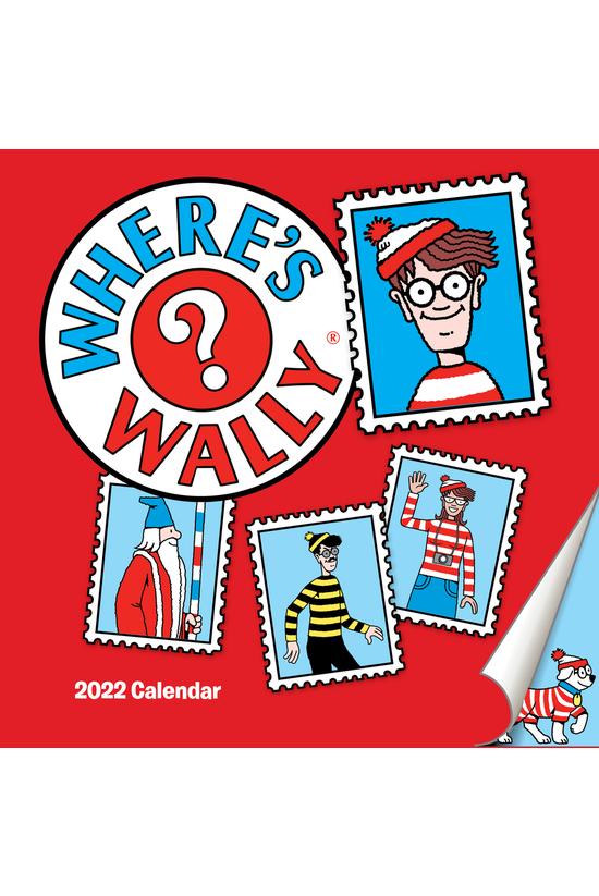 2022 Wall Calendar Where's Wal...