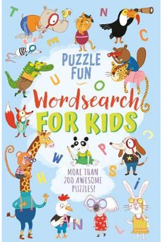 Puzzle Fun: Wordsearch For Kid...