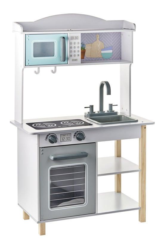 Wooden Kitchen Play Set