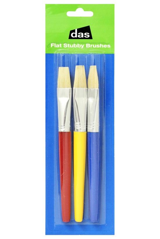Das Flat Stubby Brushes Bristl...