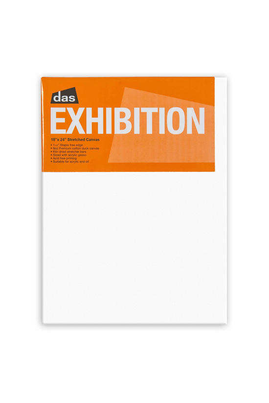 """Das Exhibition 1.5"""" Canva..."""