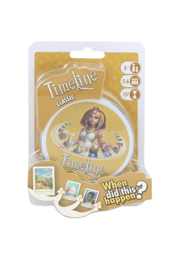 Timeline Classic Card Game Min...