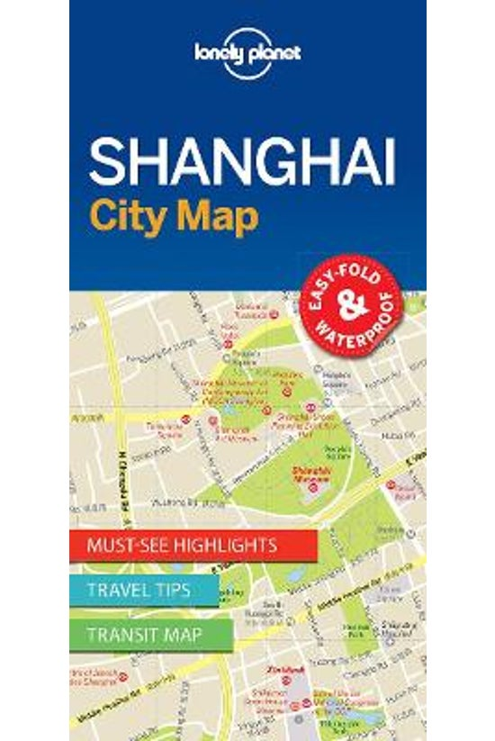 Lonely Planet Shanghai City Ma...