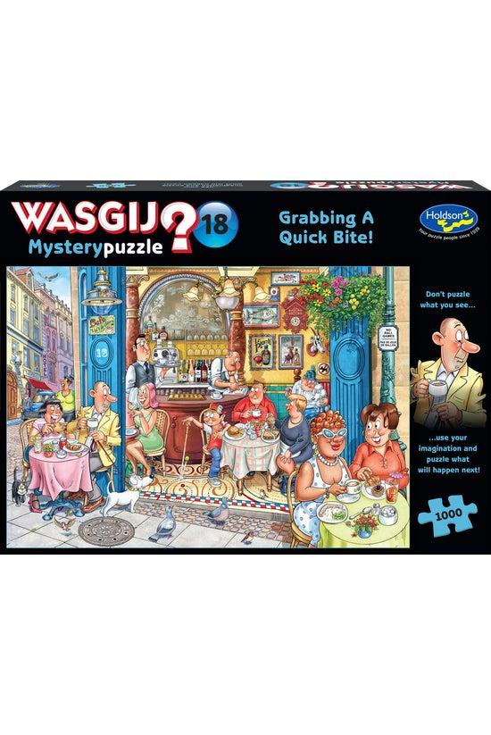 Wasgij Mystery #18: Grabbing A...